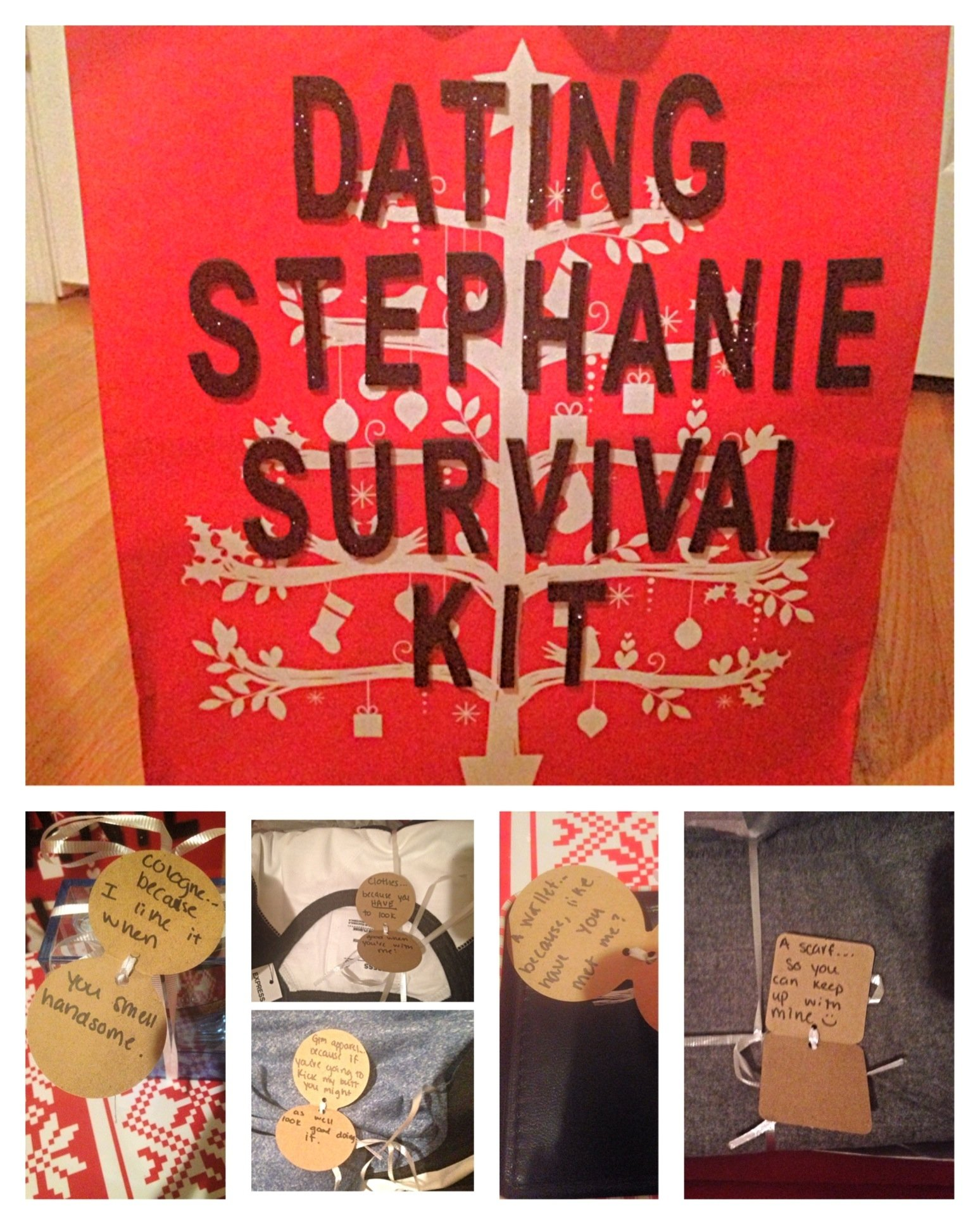 christmas ideas for your significant other!! it was our first