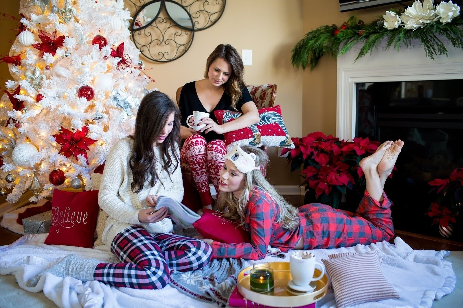 10 Beautiful Pajama Party Ideas For Adults christmas jammie party pretty in the pines north carolina