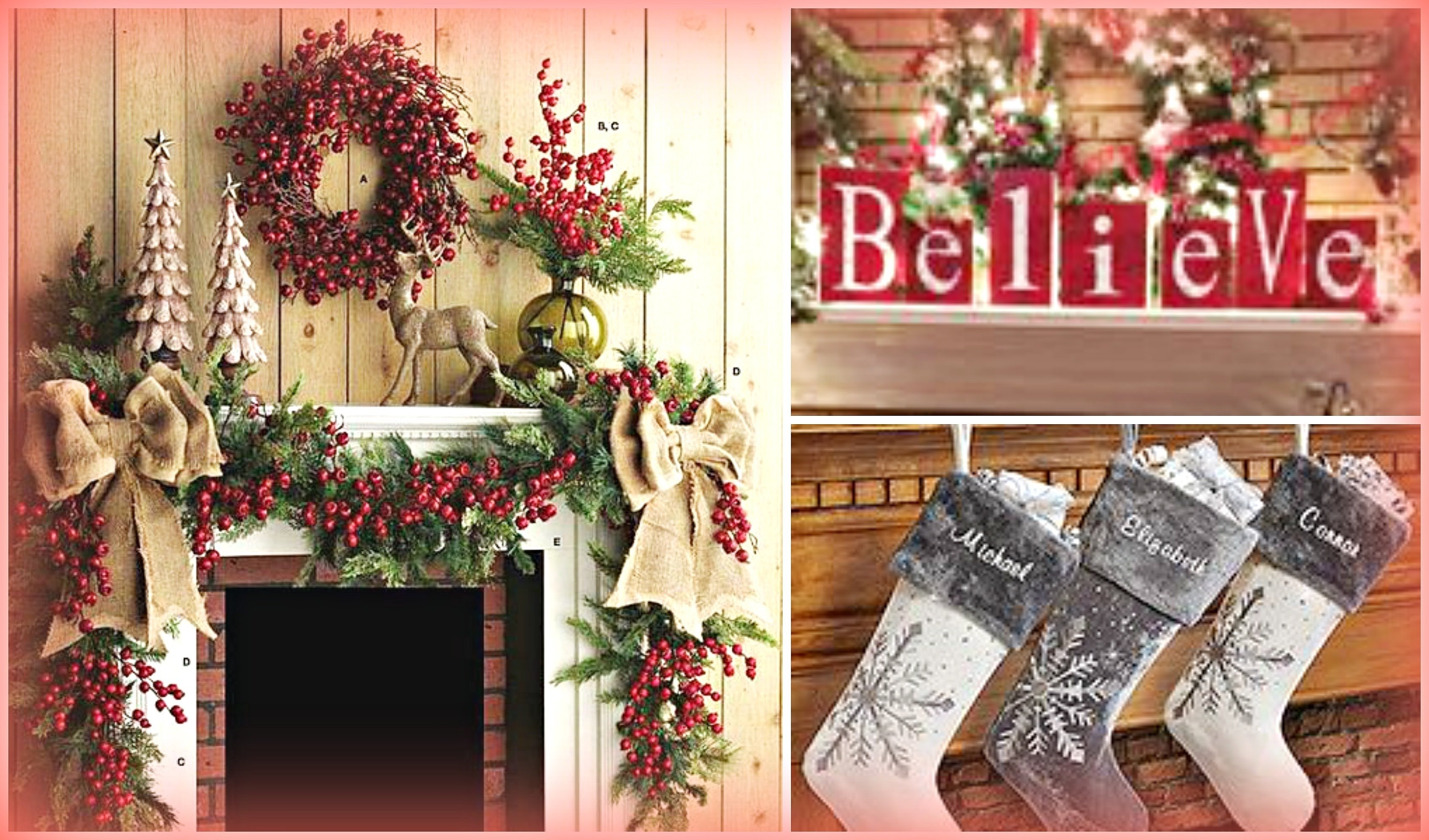 10 Wonderful Christmas Decorating Ideas For Mantels christmas mantel decorating ideas holiday decorating ideas youtube 2020