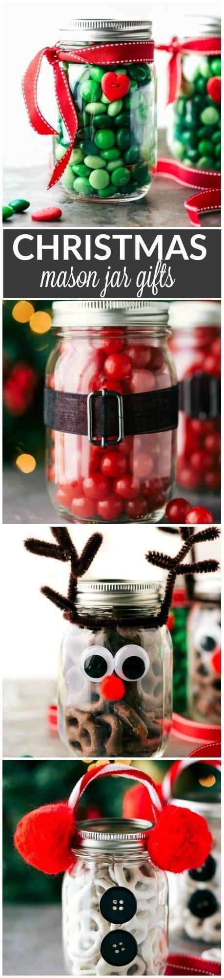 10 Cute Mason Jar Christmas Gift Ideas christmas mason jar gift ideas chelseas messy apron