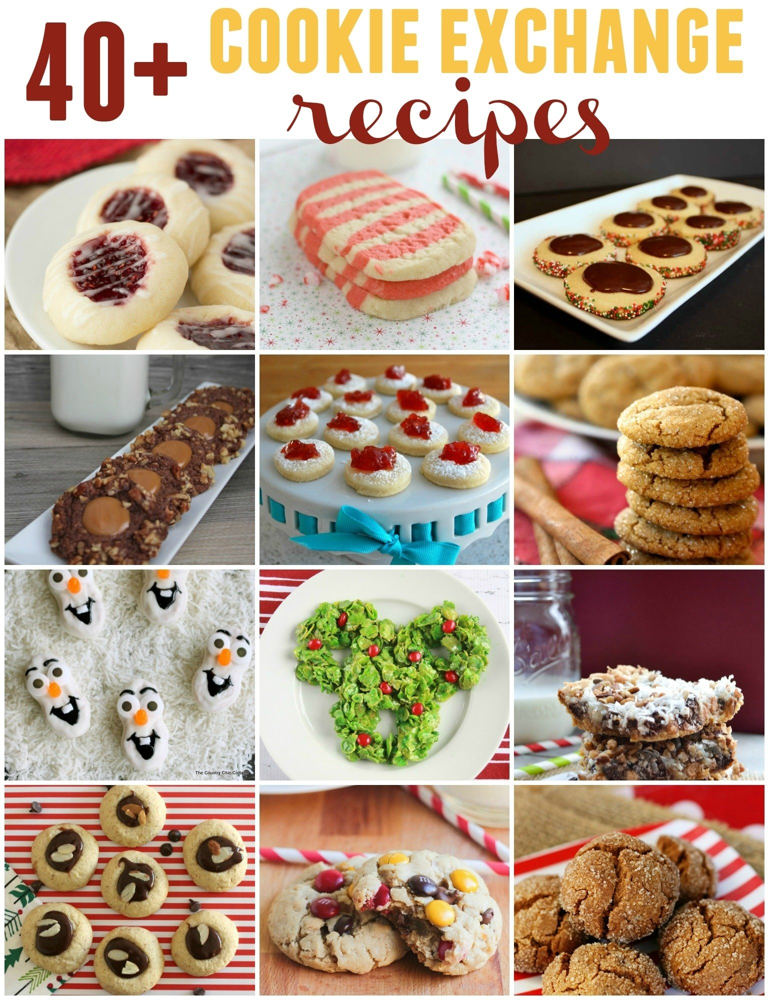 10 Stunning Christmas Cookie Exchange Party Ideas 2019