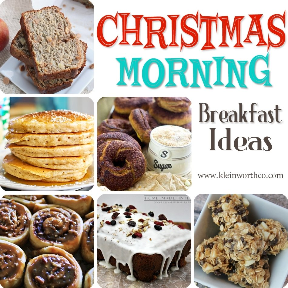 christmas morning breakfast ideas - kleinworth & co