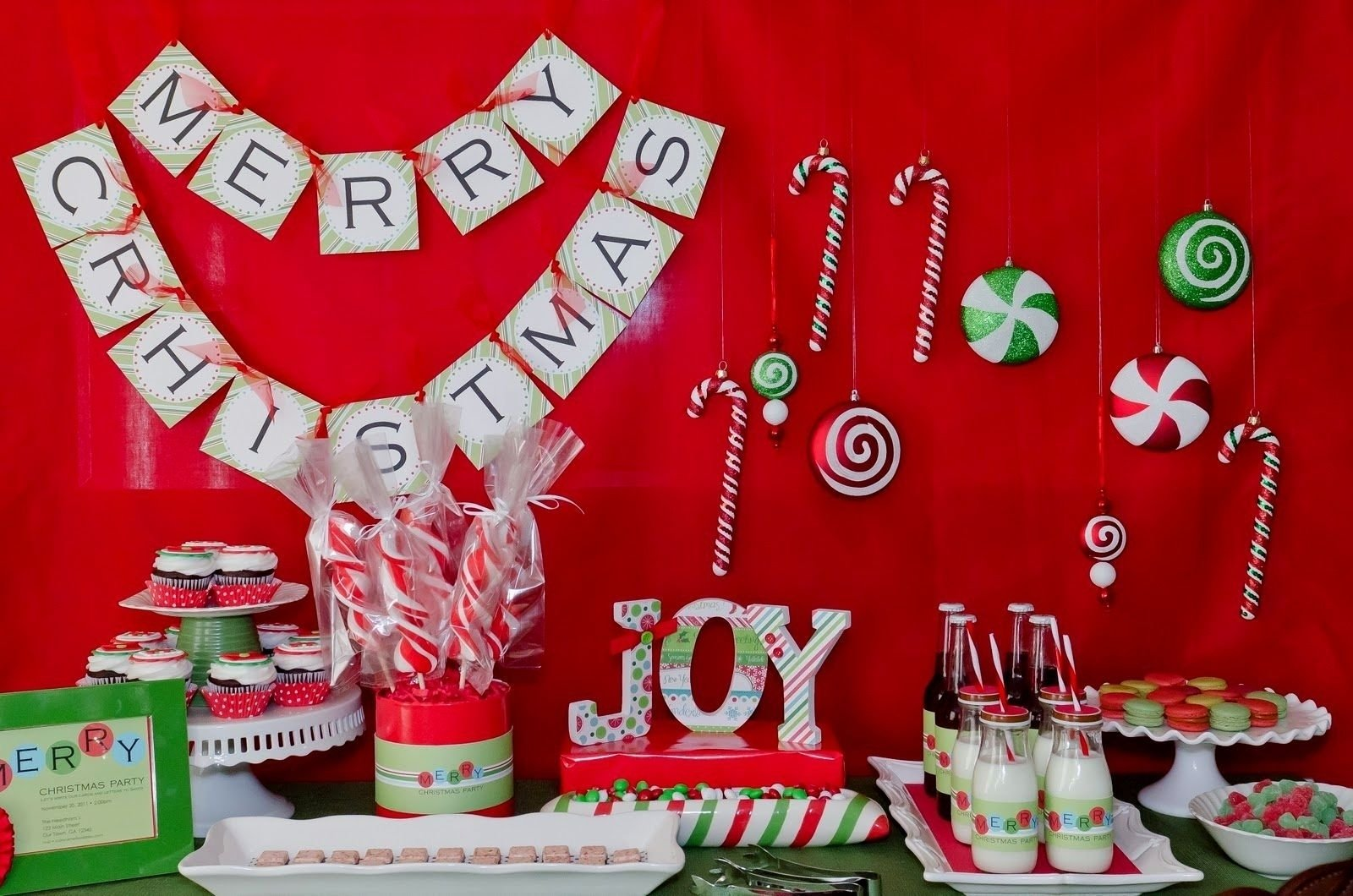 10 Attractive Christmas Party Theme Ideas For Adults christmas party decorations ideas diy free design templates 2020