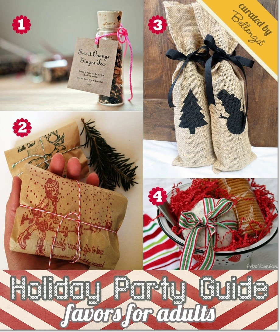10 Lovely Party Favors Ideas For Adults christmas party favors 3 2021