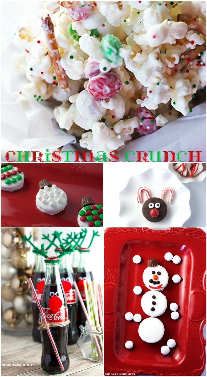 10 Fashionable Ideas For Kids Christmas Party christmas party food ideas for kids embellishmints 1