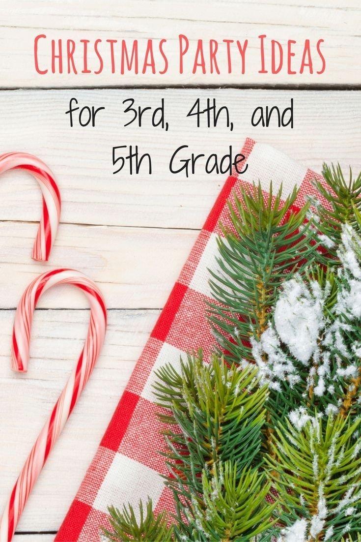 10 Stunning 4Th Grade Christmas Party Ideas christmas party ideas for 3rd 4th and 5th grade room mom school 2 2020
