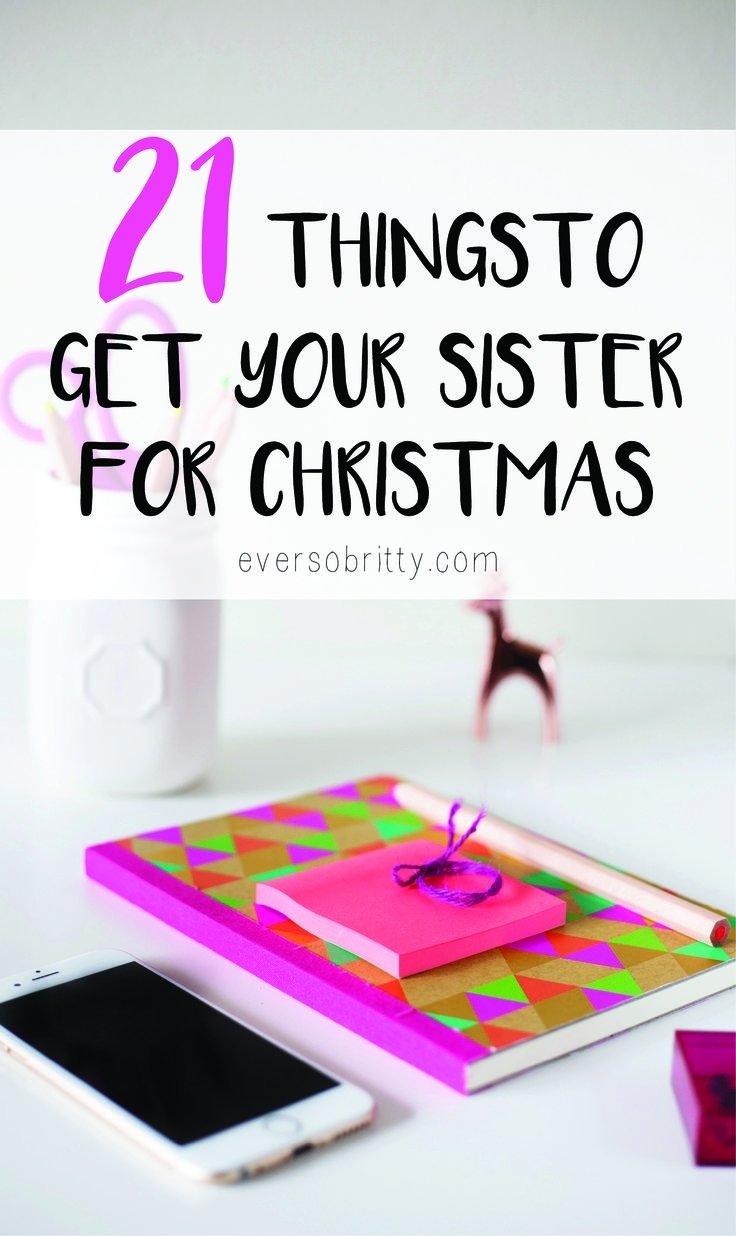 10 Lovable Christmas Present Ideas For Sister christmas presents for your sister tabithabradley 2 2020