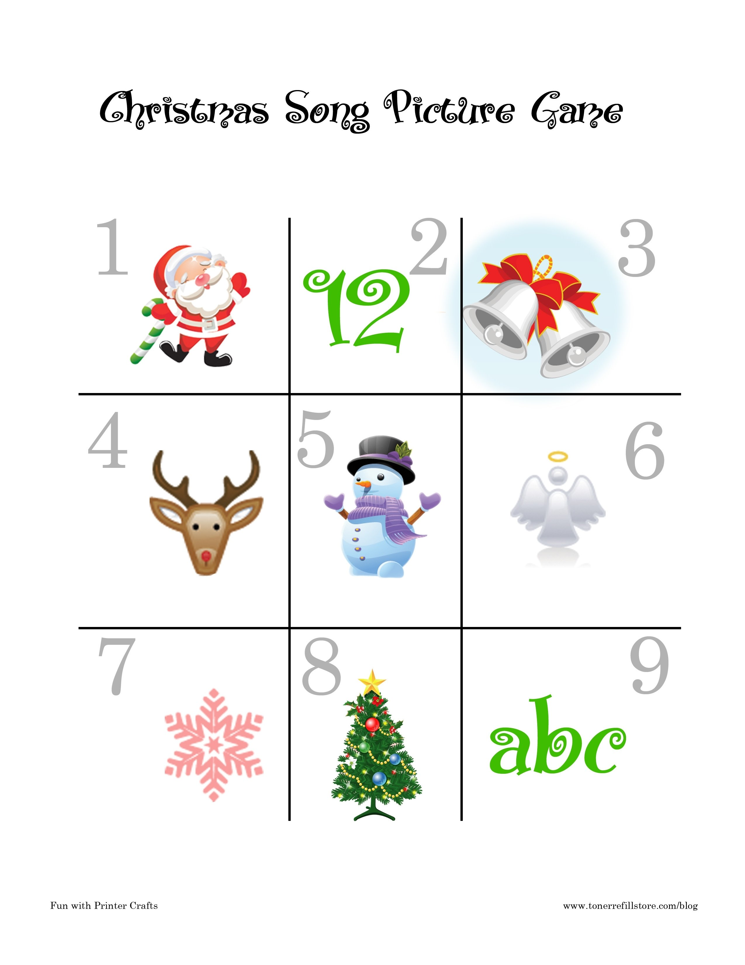 10 Unique Christmas Game Ideas For Kids christmas song games fun printable christmas games for kids fun