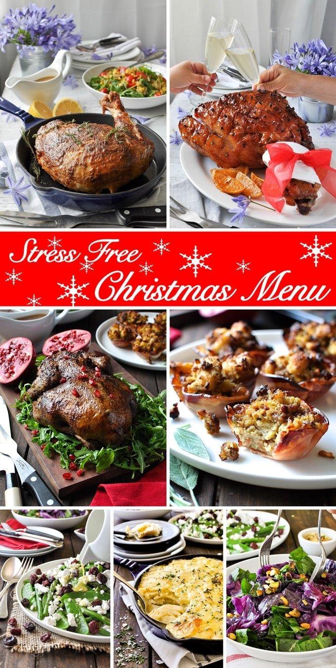 10 Awesome Christmas Ham Dinner Menu Ideas christmas special 7 course easy christmas menu recipetin eats 1 2021
