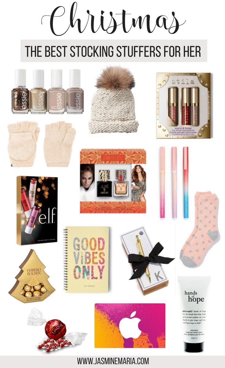 10 Lovable Stocking Stuffer Ideas For Her christmas stocking stuffers for her jasmine maria 2021