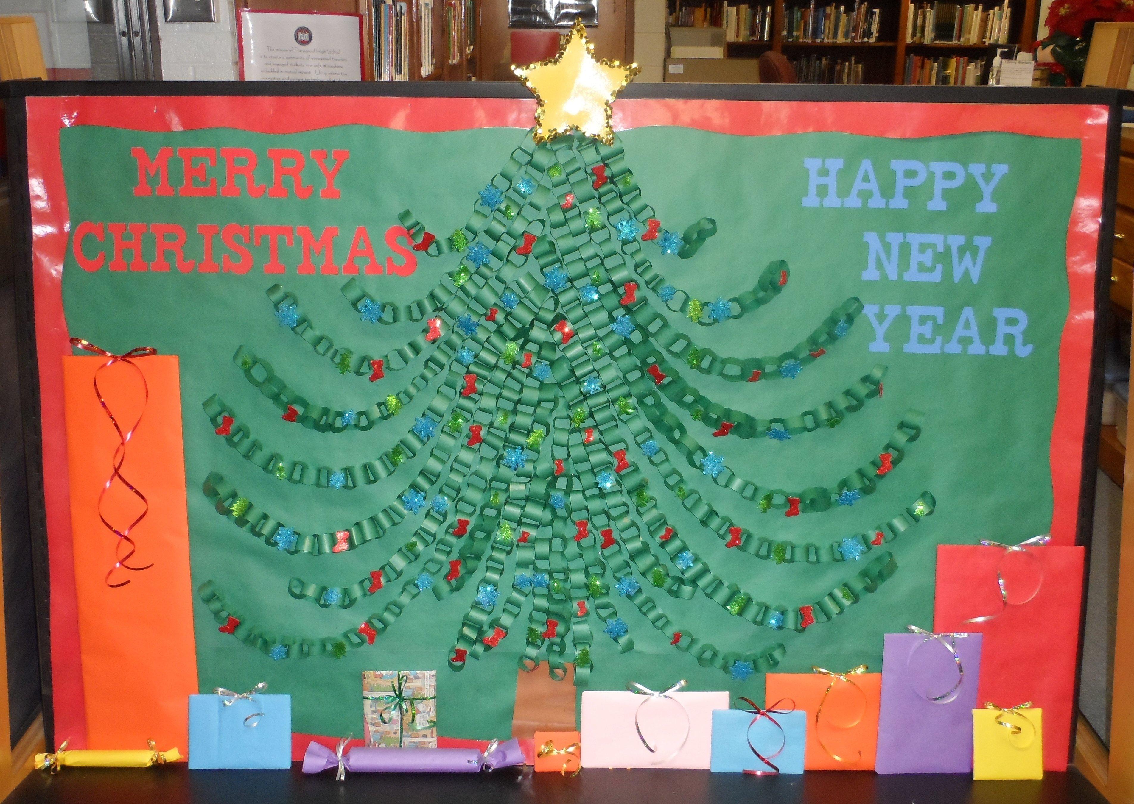 10 Attractive Christmas Tree Bulletin Board Ideas christmas tree bulletin board pics4learning 1 2021