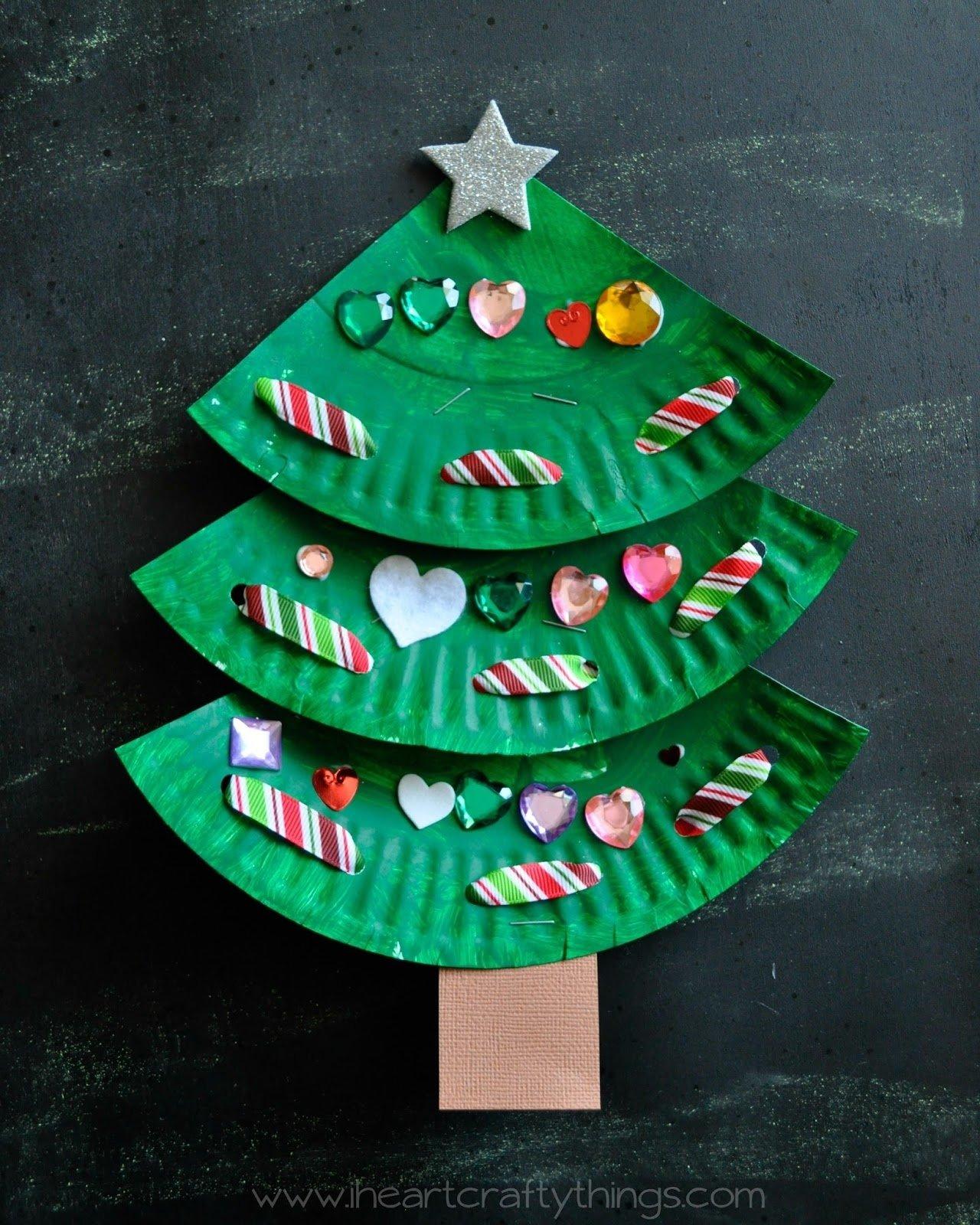 10 Stylish Christmas Craft Ideas For Kids To Make christmas tree crafts for kids to make ye craft ideas 2021