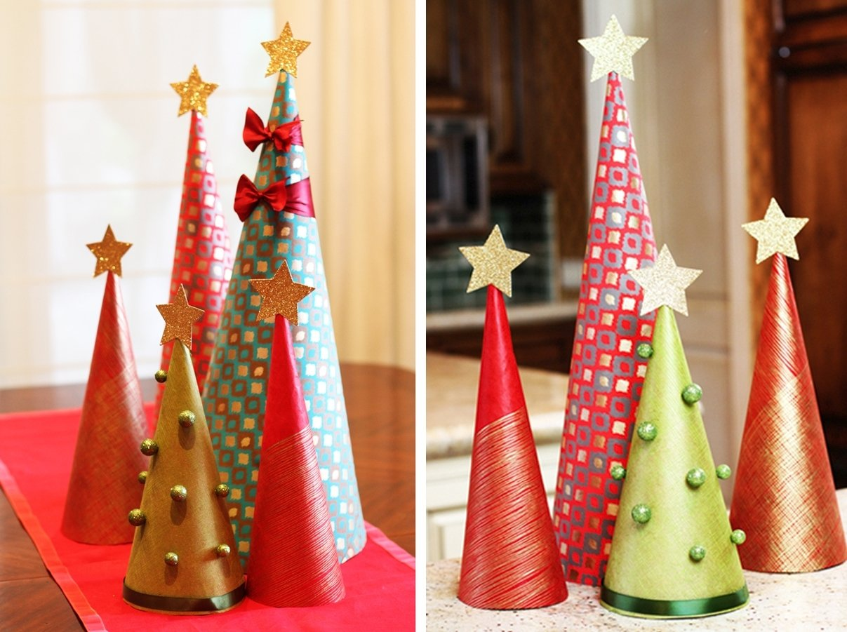 10 Cute Christmas Decorations Ideas To Make christmas tree decoration ideas make decor dma homes 64173