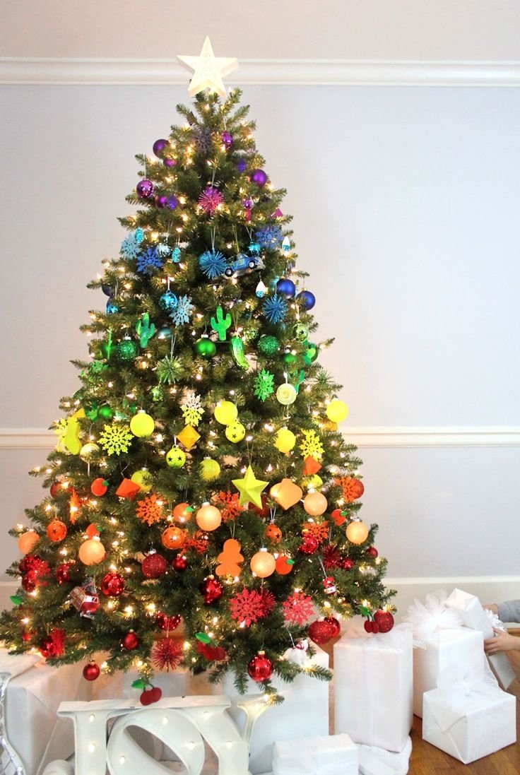 10 Pretty Unique Christmas Tree Decorating Ideas christmas tree decorations 2018 christmas celebration all about 1