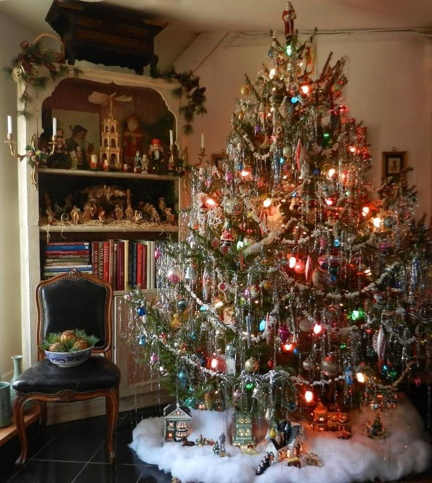 10 Beautiful Old Fashioned Christmas Decorating Ideas christmas tree ideas for christmas 2017 christmas tree fashion 2020