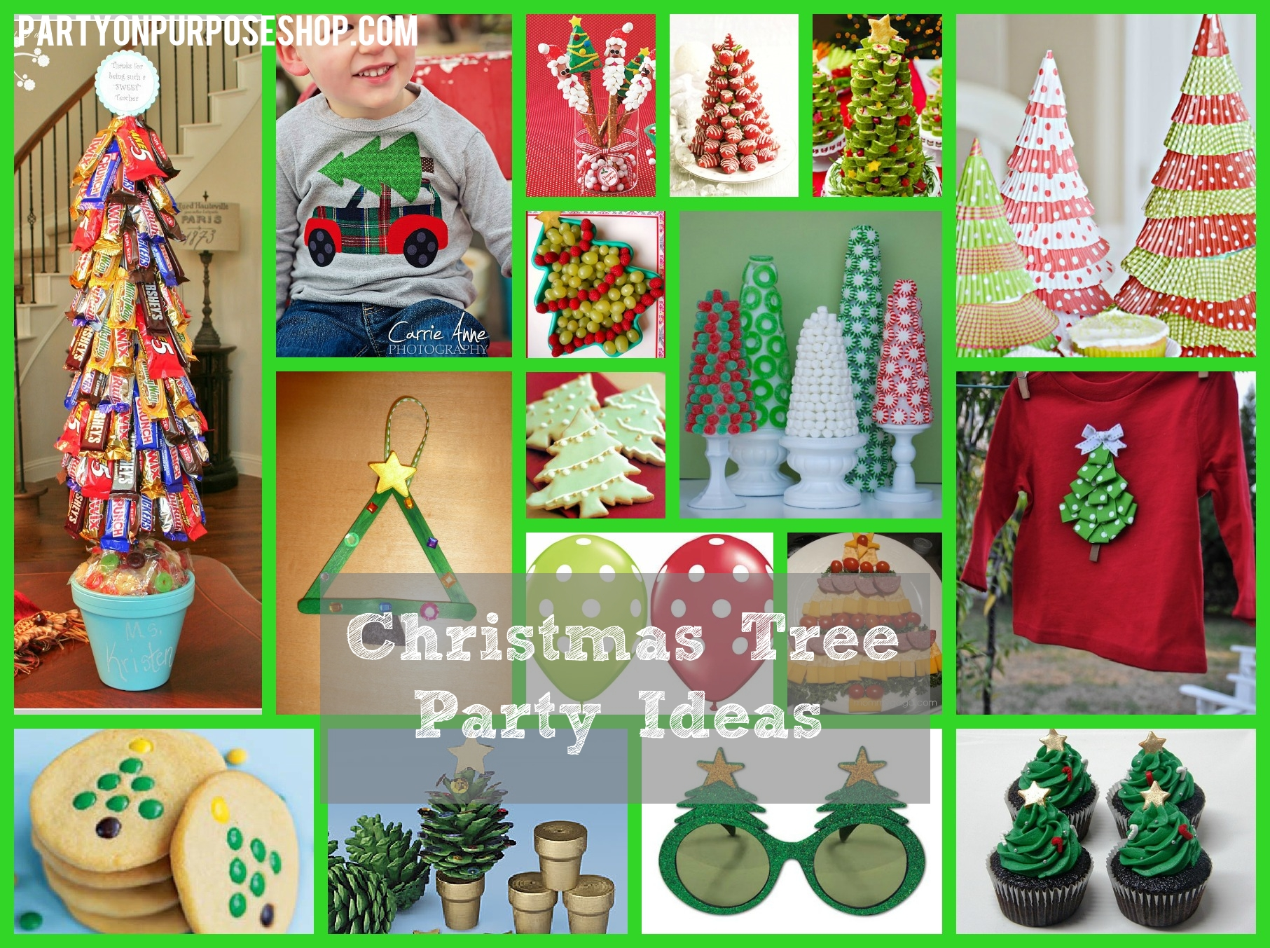 10 Best Christmas Party Ideas For Work christmas tree party ideas party on purpose