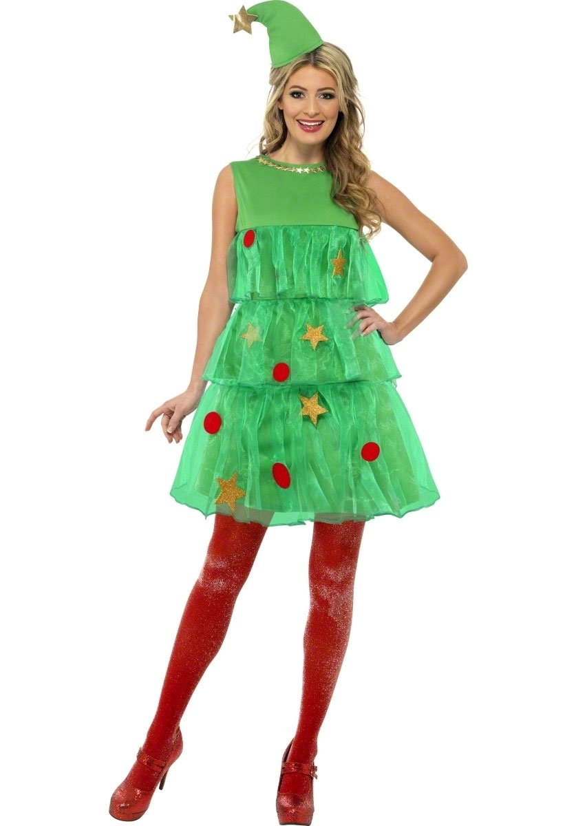 christmas tree tutu costume, cute christmas tree fancy dress