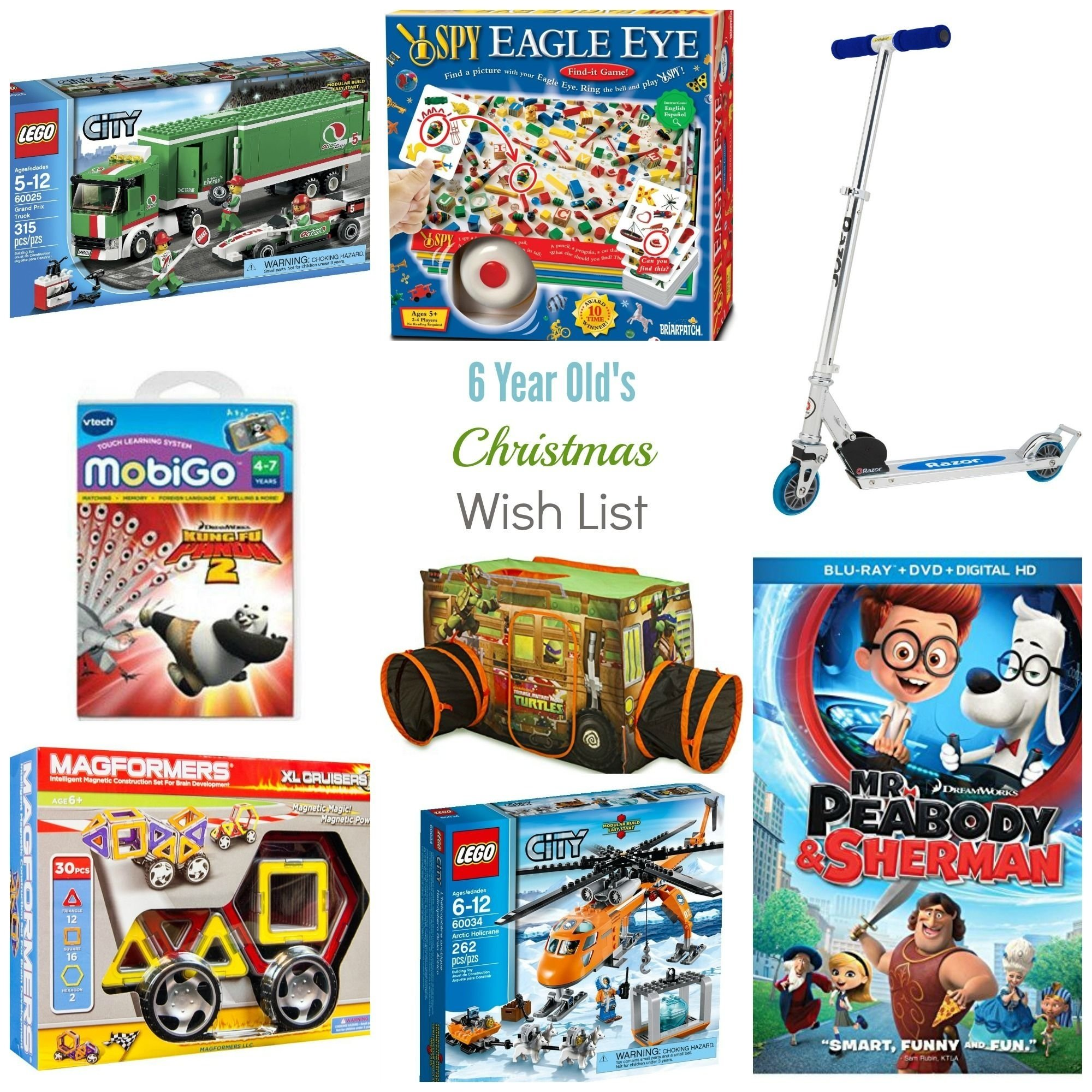 10 Fashionable Gift Idea For 6 Year Old Boy Christmas Wish List