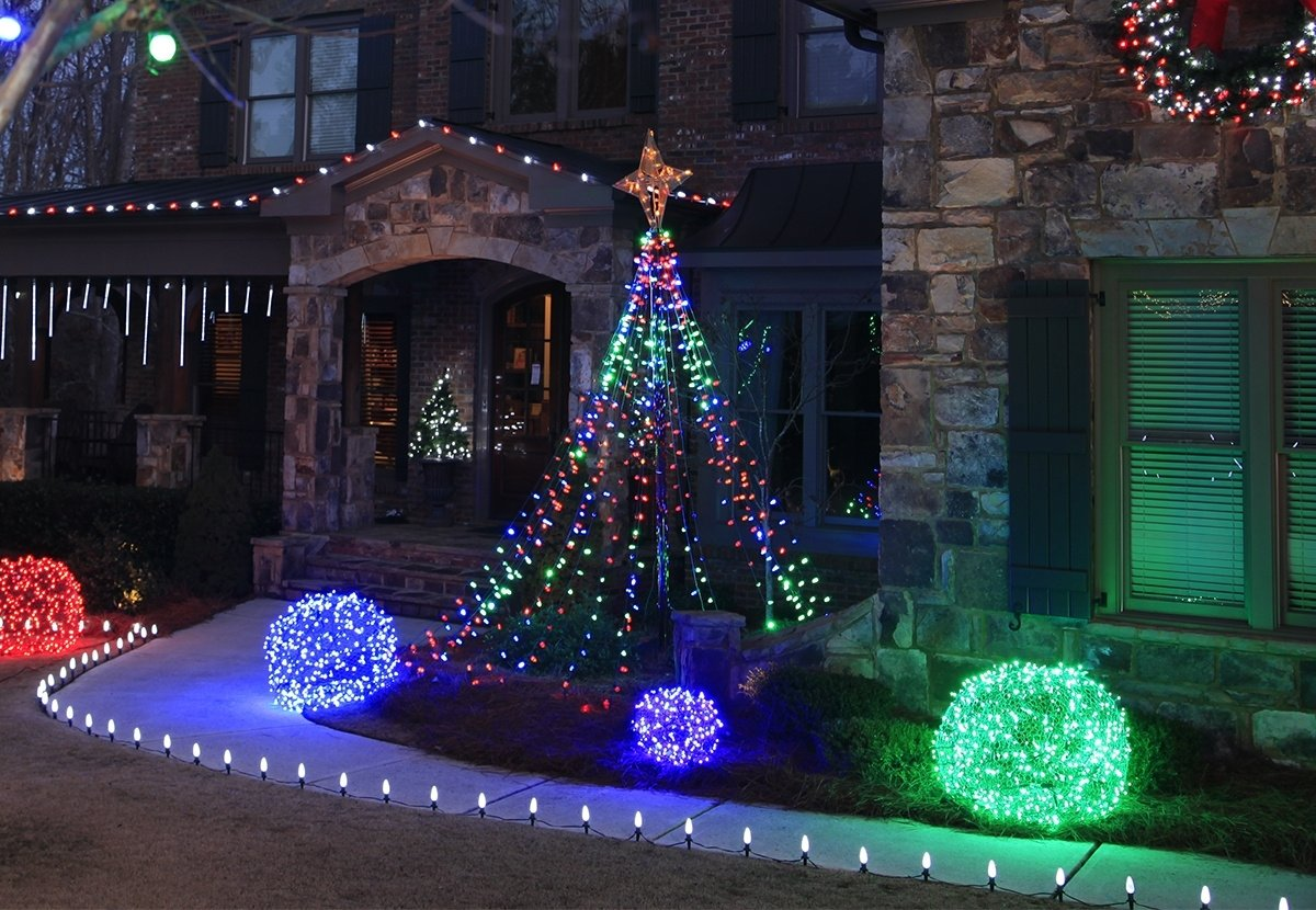 10 Lovable Outdoor Decorating Ideas For Christmas christmas yard decorating ideas