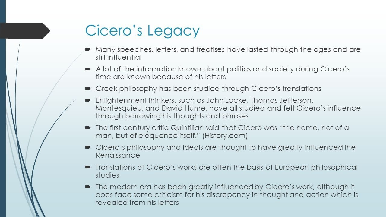 10 Unique The Political Ideas Of Thomas Jefferson Were Greatly Influenced By cicero bce also sometimes referred to as tully romes greatest 2020