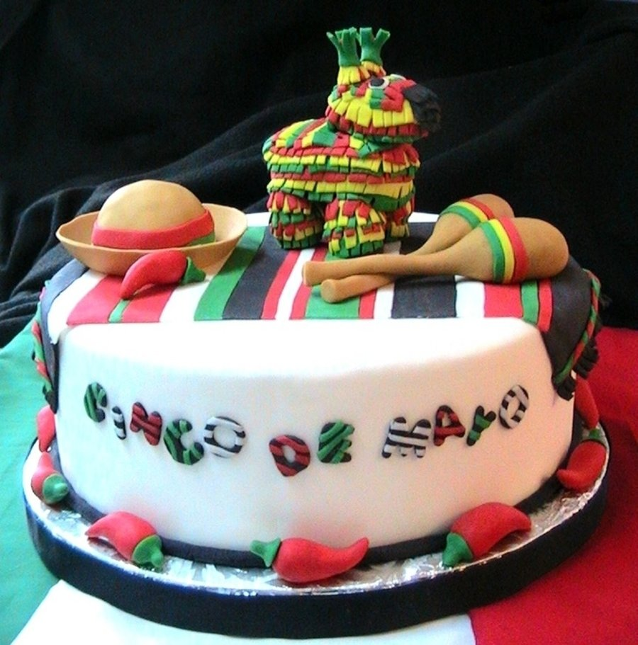 cinco de mayo cake - cakecentral