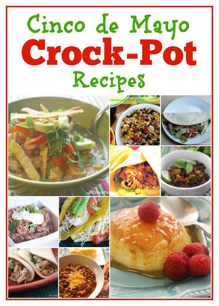 10 Most Recommended Cinco De Mayo Potluck Ideas cinco de mayo crock pot recipes crock pot ladies 2021