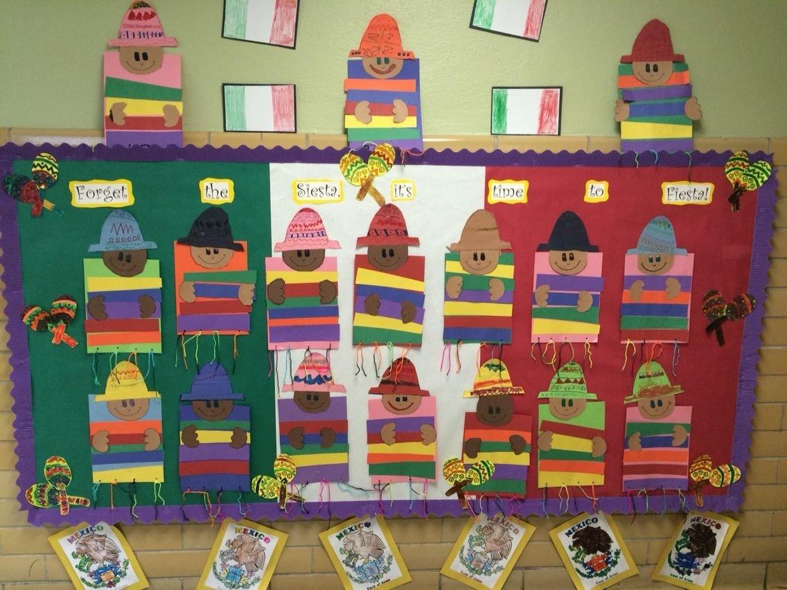 10 Fabulous Cinco De Mayo Bulletin Board Ideas cinco de mayo early learning fiesta fun spanish vocabulary fun 2020