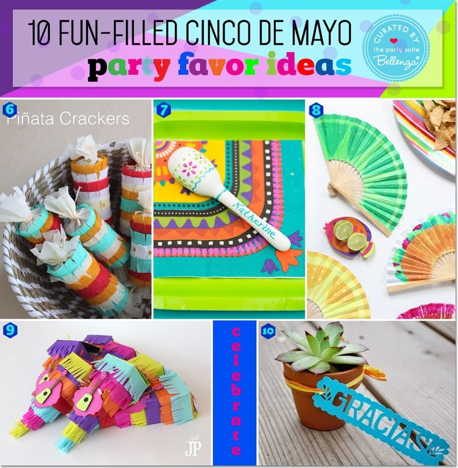 10 Fantastic Ideas For Cinco De Mayo Party cinco de mayo favor ideas fun cinco de mayo favors fiesta favors