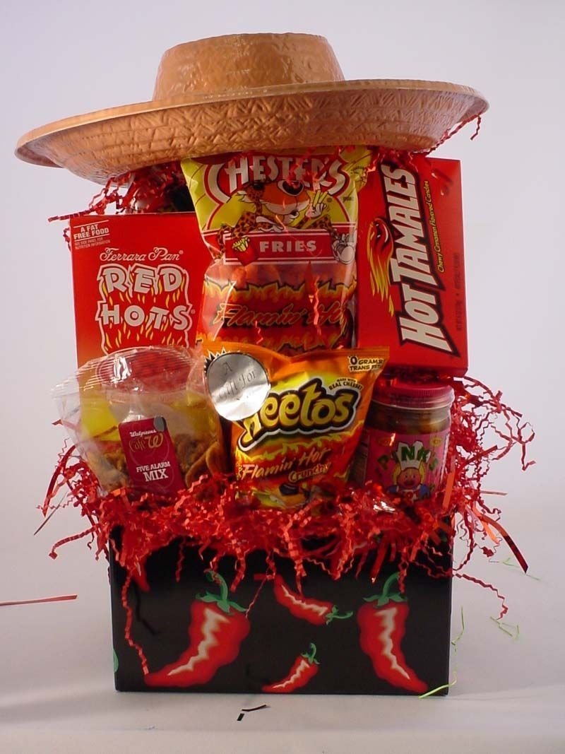 cinco de mayo gift basket. this would even be great for a party