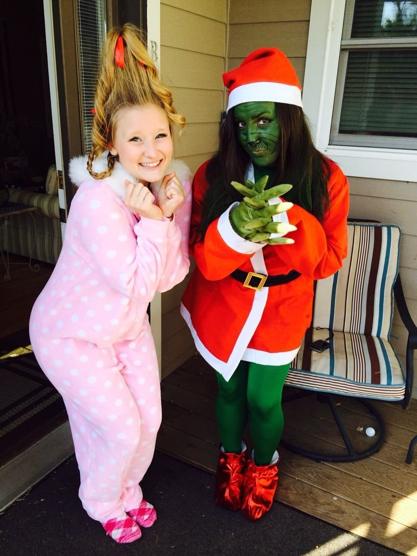 10 Stylish Cindy Lou Who Costume Ideas cindy lou who and the grinch diy halloween costumes couple costume