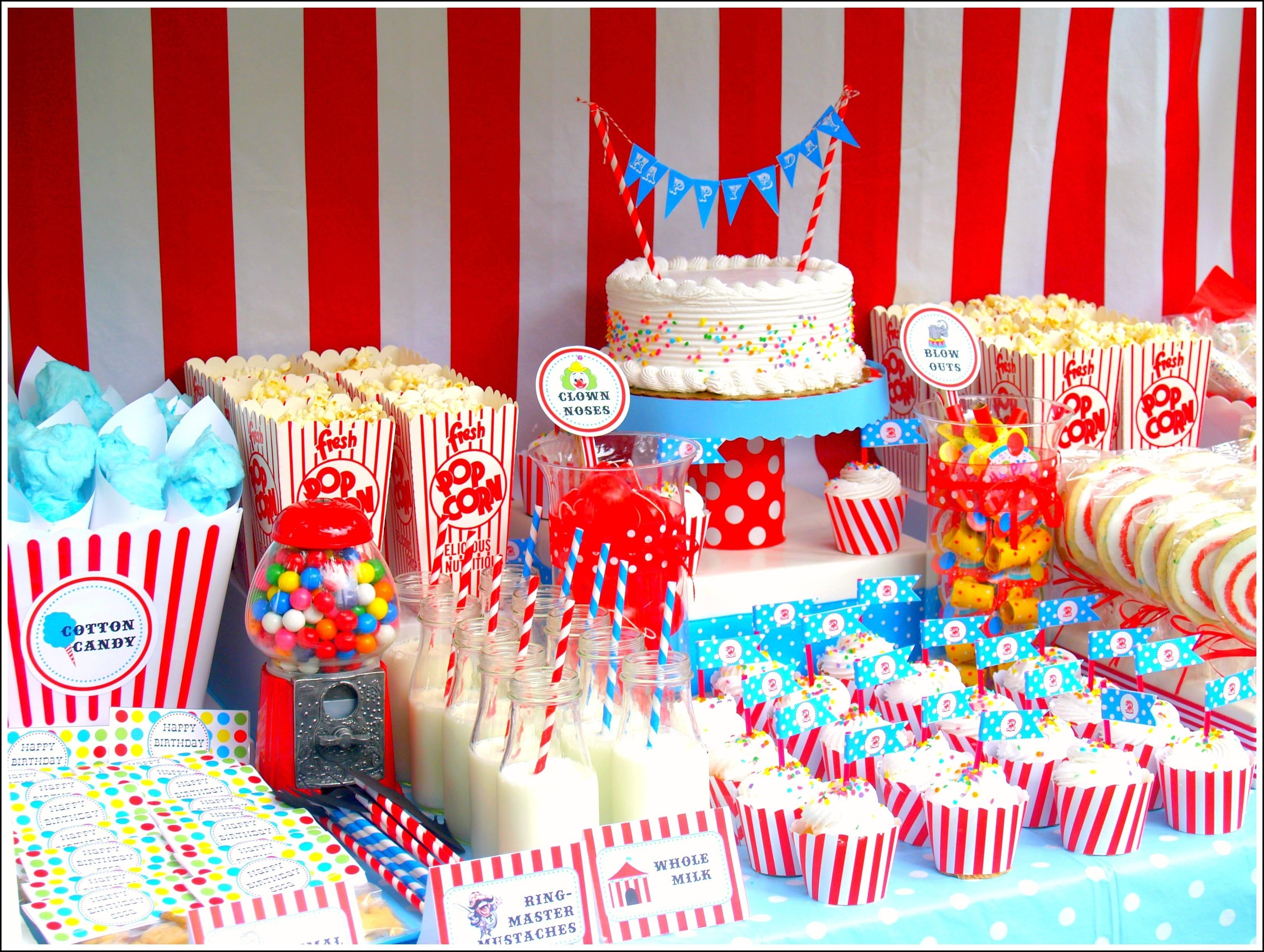 10 Most Popular Carnival Party Ideas For Adults circus birthday party ideas vintage inspired circus birthday party 2020