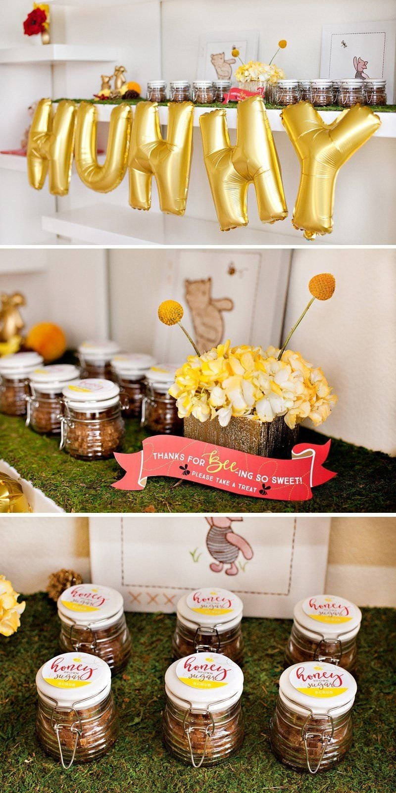10 Wonderful Classic Winnie The Pooh Baby Shower Ideas classic modern winnie the pooh baby shower modern babies and 2020