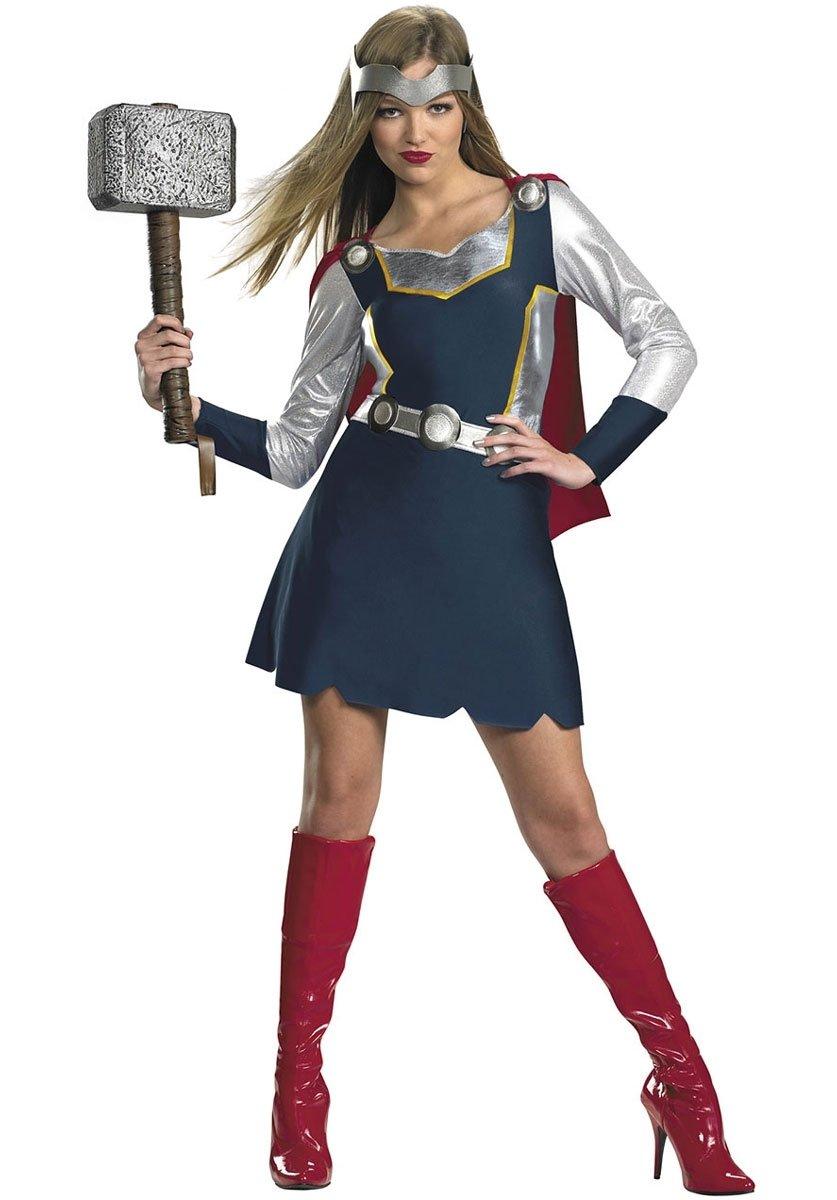 10 Stylish Superhero Costume Ideas For Women classic thor girl costume superhero costumes at escapade uk 2020
