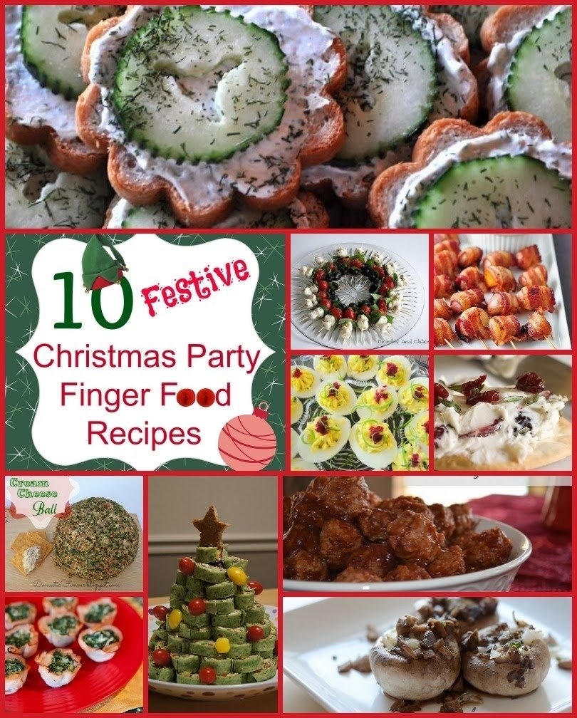 classical homemaking: 10 festive christmas party finger food recipes