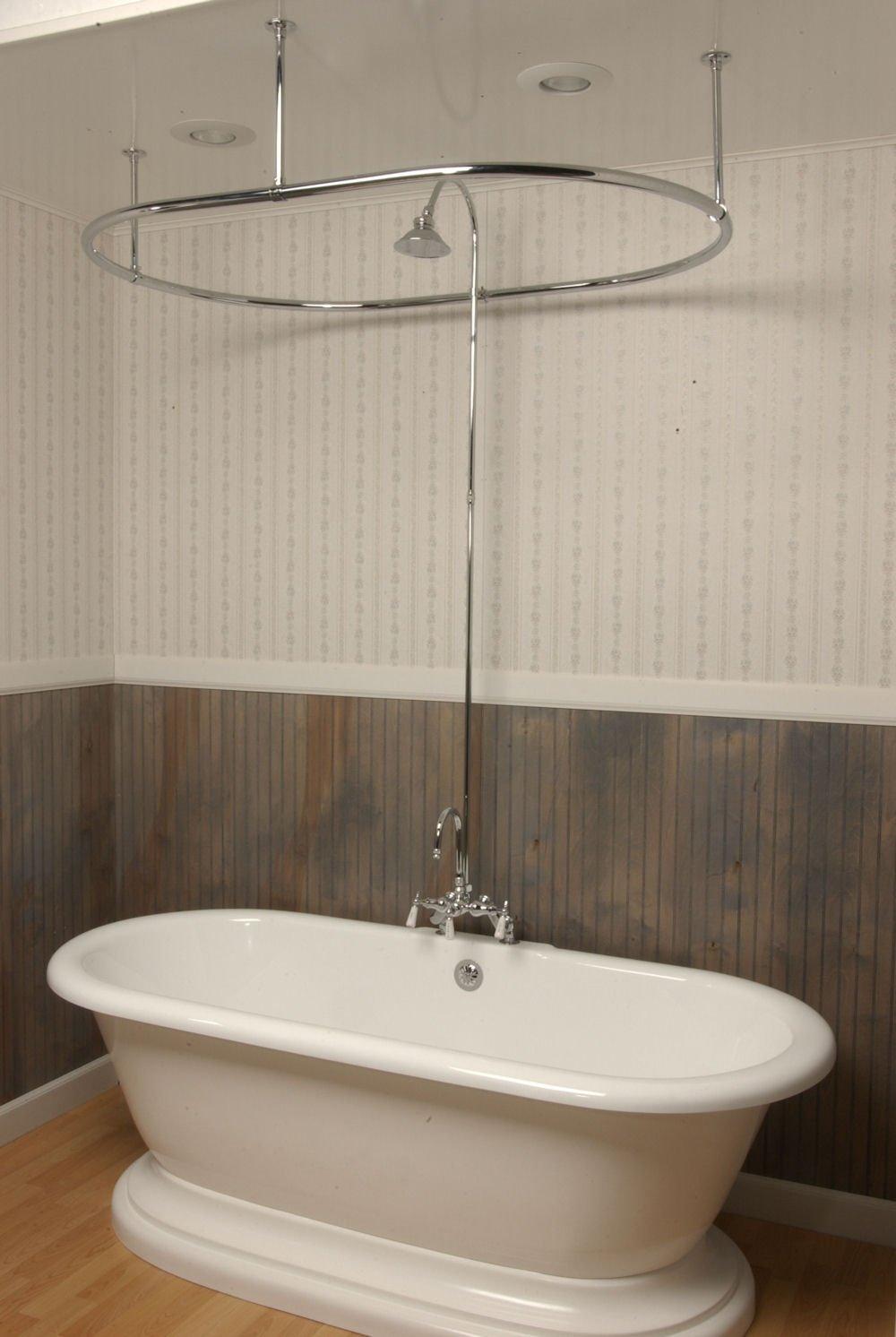 10 Unique Clawfoot Tub Shower Curtain Ideas
