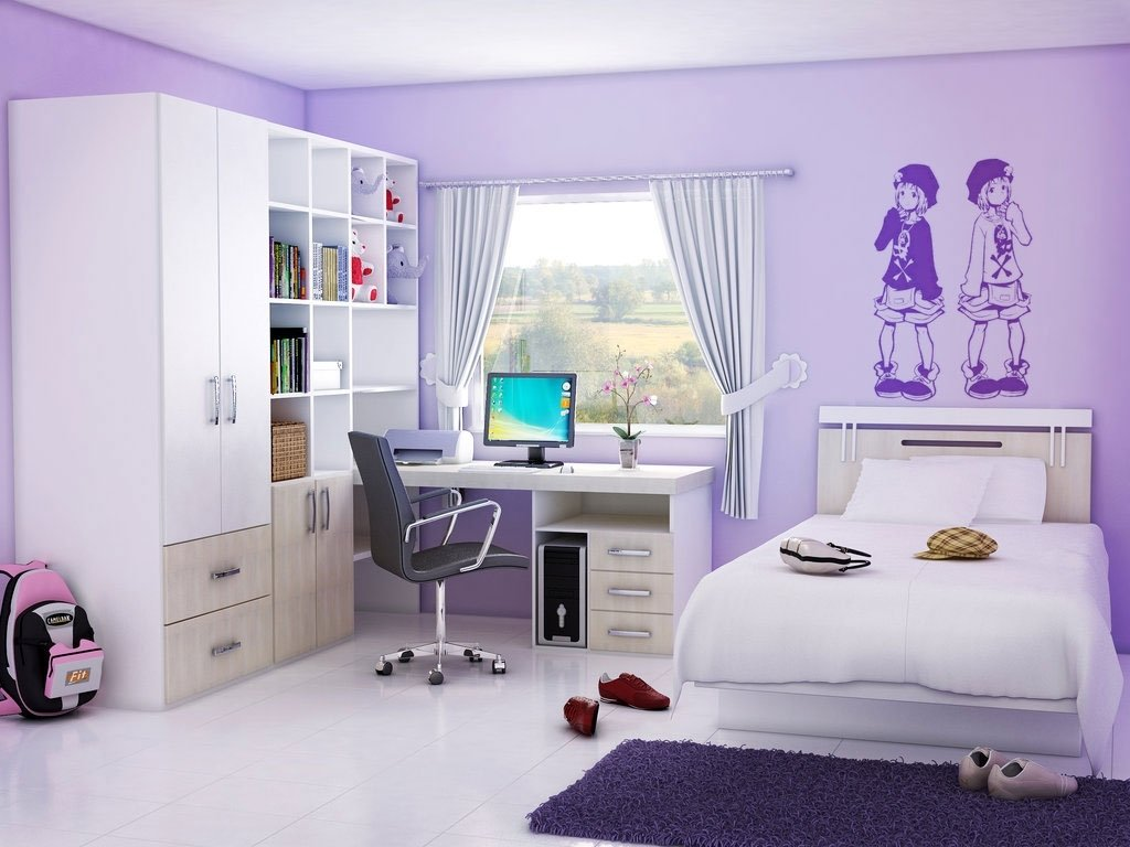 10 Lovable Cute Bedroom Ideas For Girls clean and cute bedroom ideas for teenage girl decobizz 2 2020