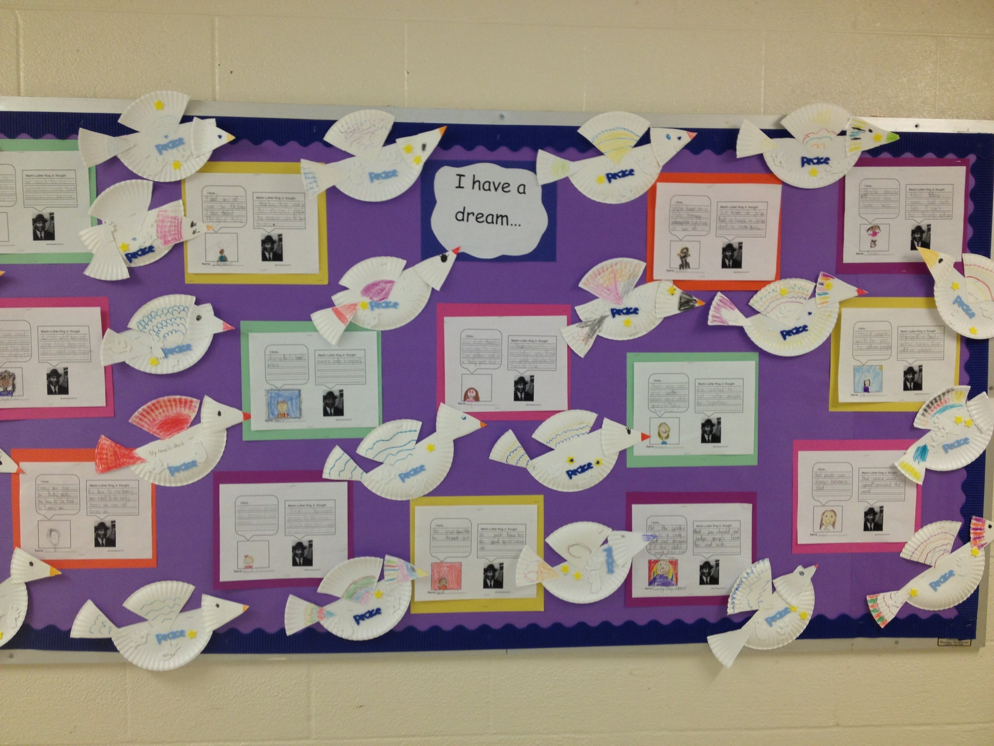 10 Cute Martin Luther King Bulletin Board Ideas close reading and writing for martin luther king jr day e28b86 science 1