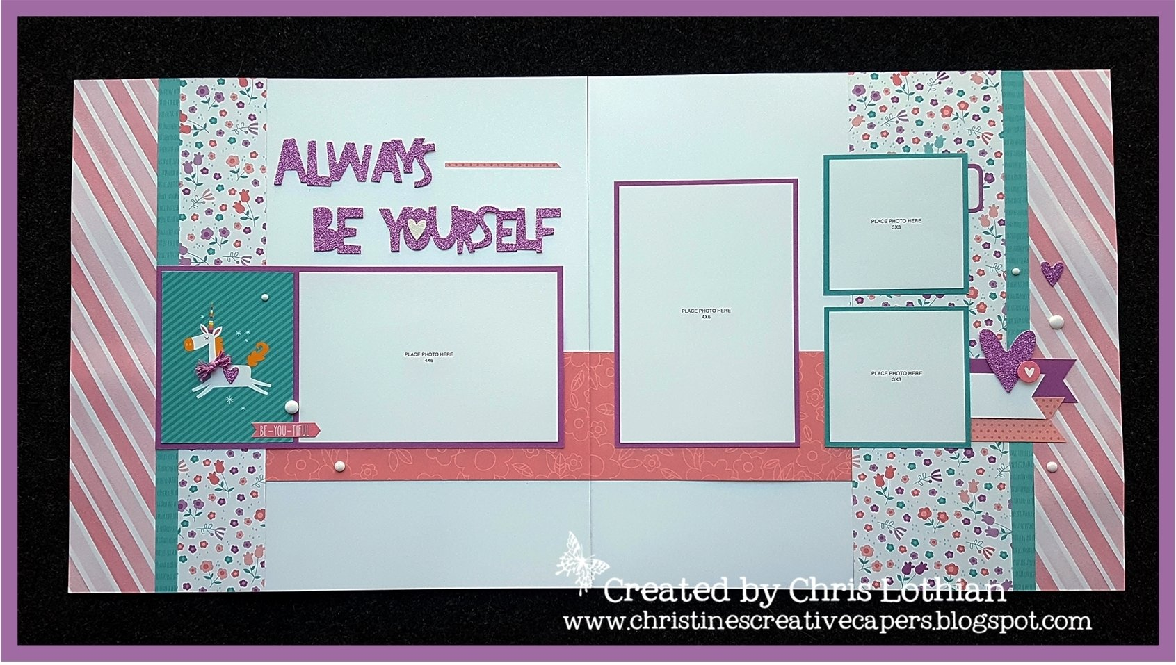 10 Best Close To My Heart Card Ideas close to my heart lil dreamer unicorn layout createdchris 2021