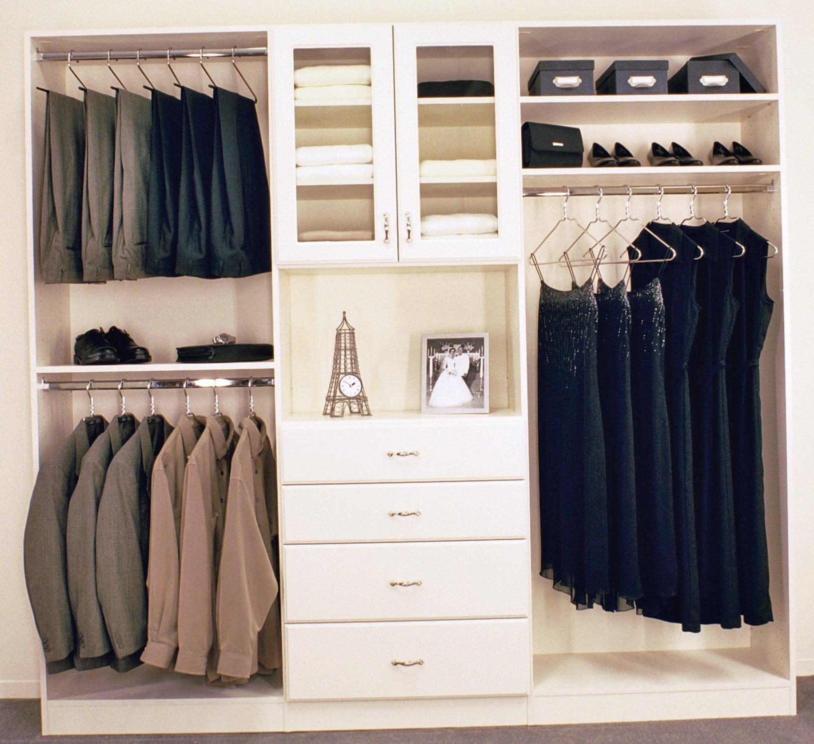 10 Attractive Closet Organization Ideas For Small Closets closet organization ideas for small walk in closets home design 2021