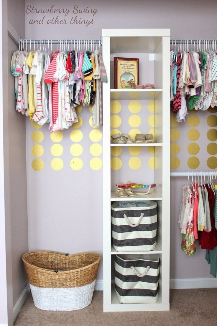 10 Spectacular Organizing Ideas For Small Spaces closet organization ideas ideas for small rooms small closet 2020