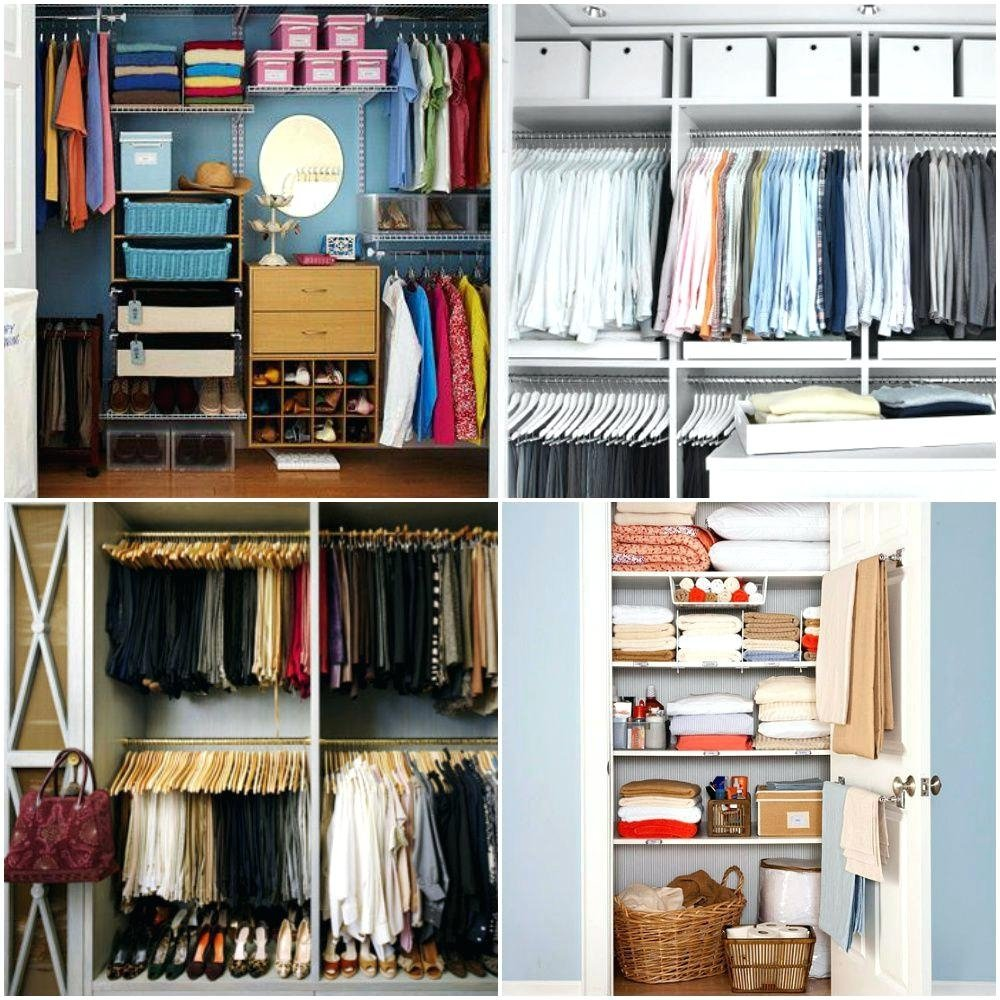 10 Attractive Closet Organization Ideas For Small Closets closet organization s home depot ideas for slanted ceilings 2021
