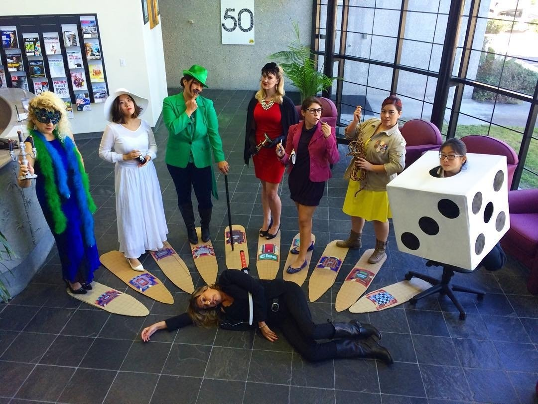 10 Best Group Halloween Costume Ideas For Work clue group halloween halloween costumes and costumes 1 2020