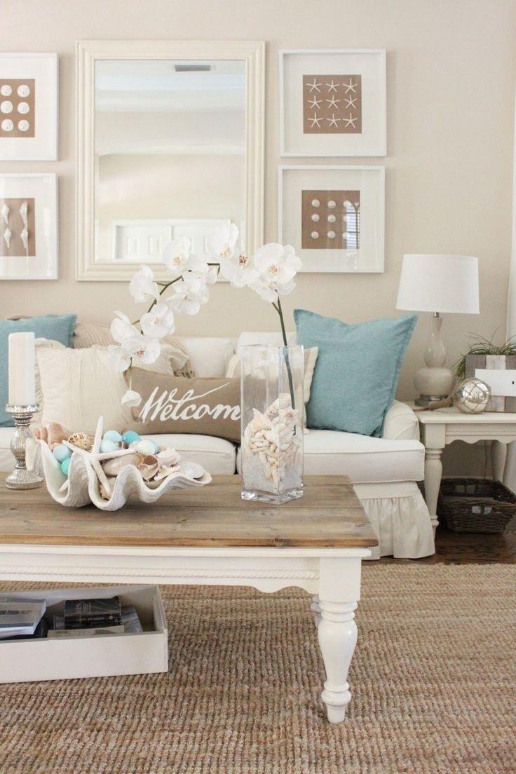 10 Fashionable Beach Themed Living Room Ideas coastal living room curtains cheap beach decorating ideas coastal 2021