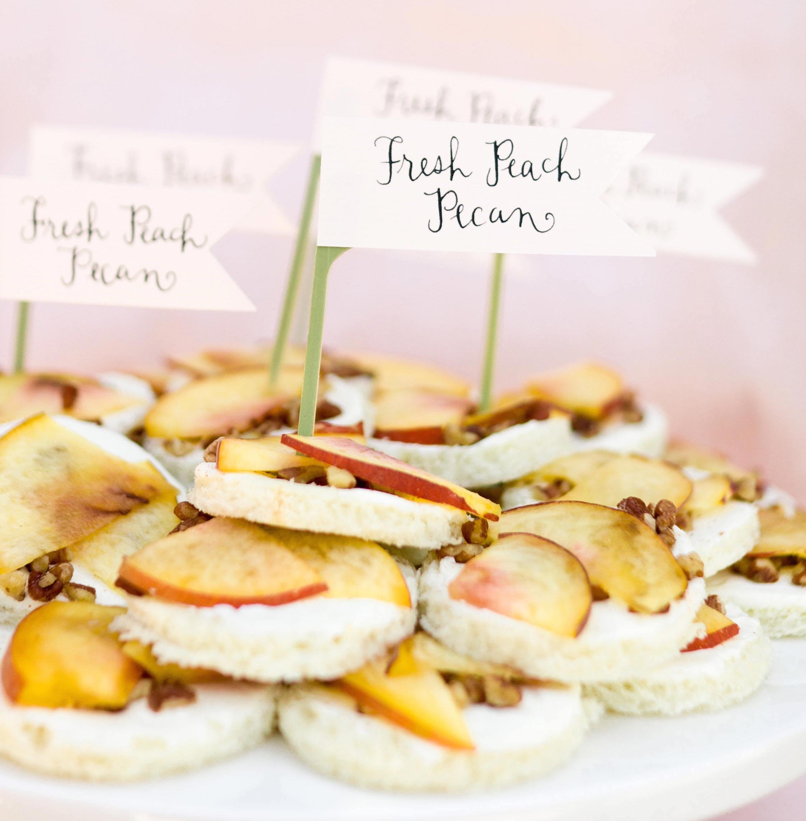 cocktail hour ideas: wedding appetizers guests will love - inside