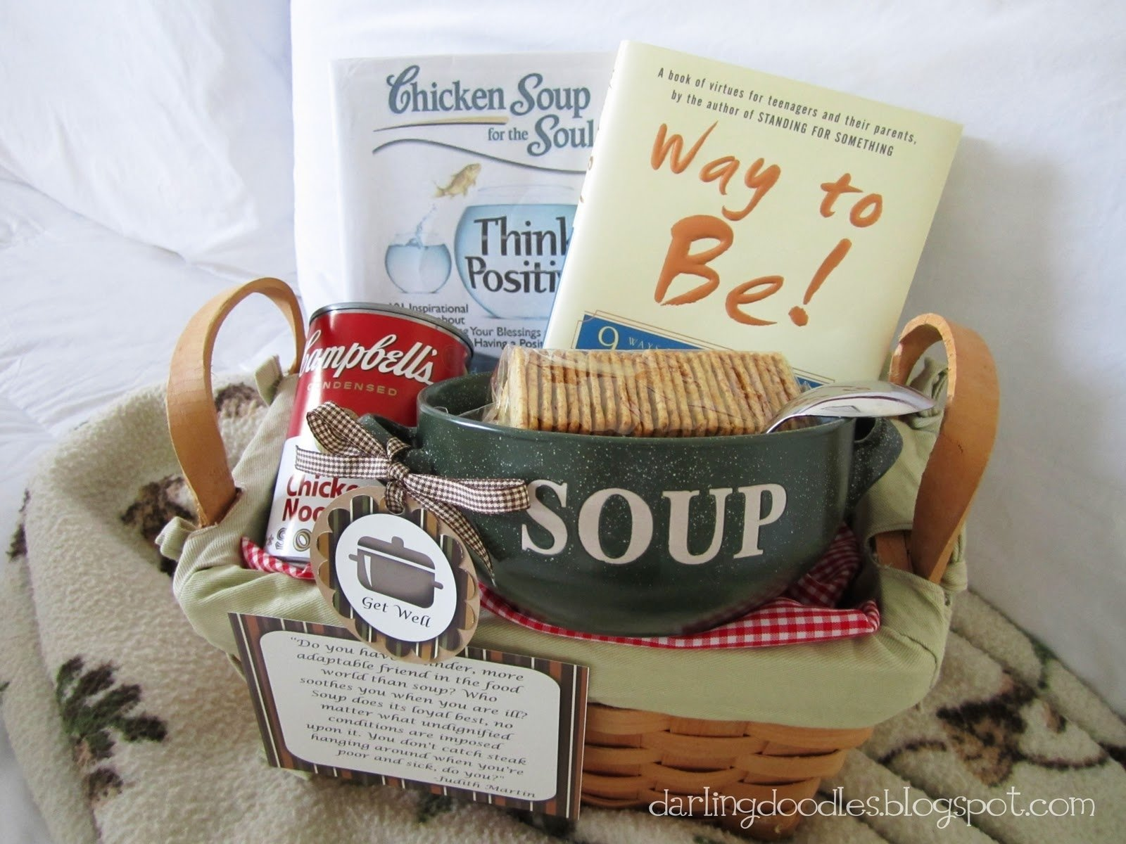 10 Nice Get Well Soon Basket Ideas cold care packages the taylor house 2021
