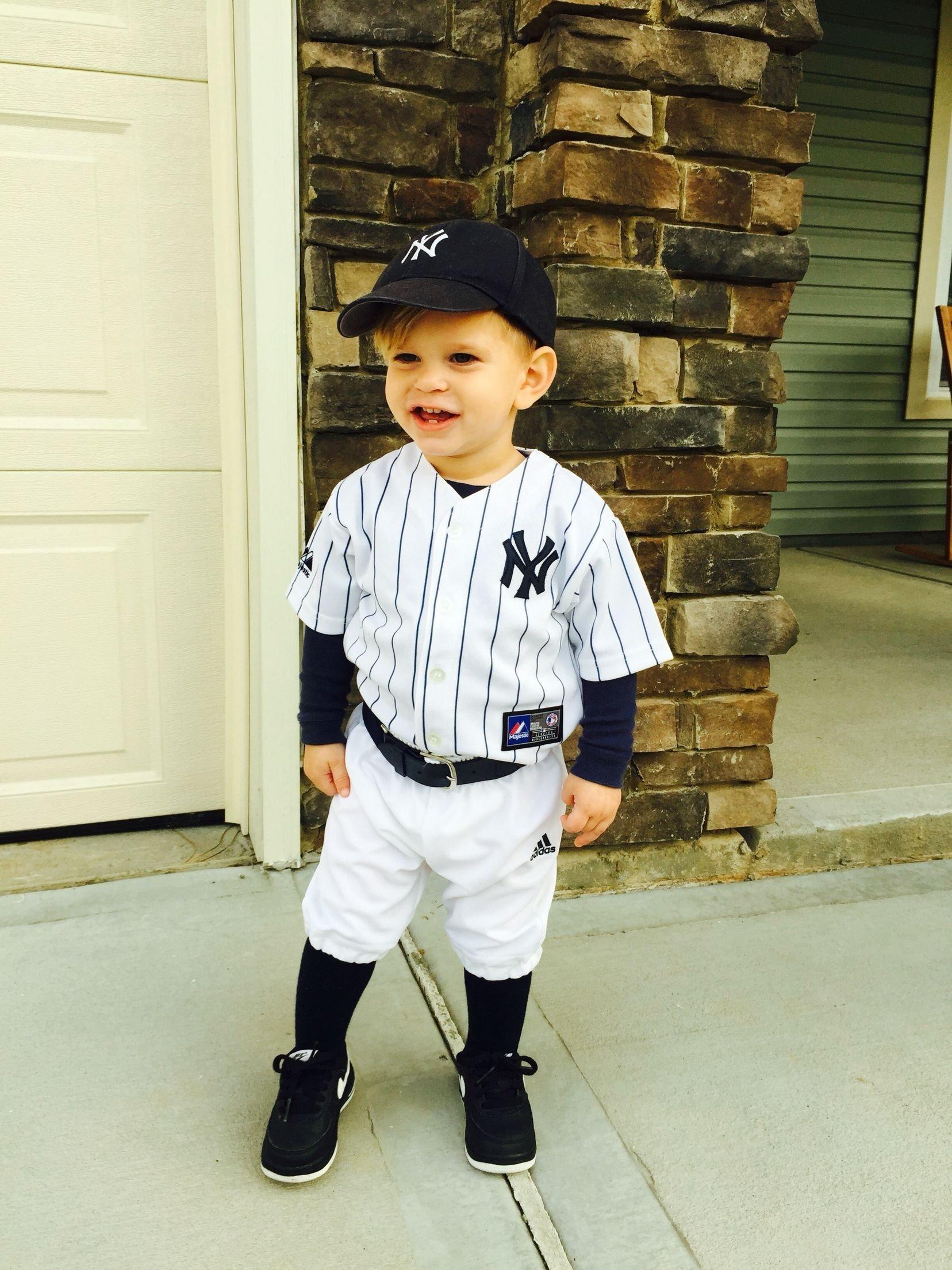 10 Fabulous Unique Toddler Halloween Costume Ideas cole david 2014 halloween costume toddler baseball player yankees 2021