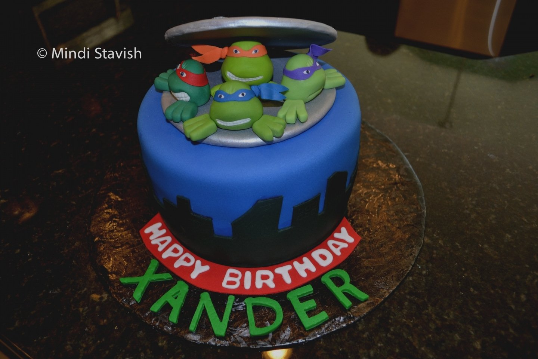 10 Great Ninja Turtle Birthday Cake Ideas