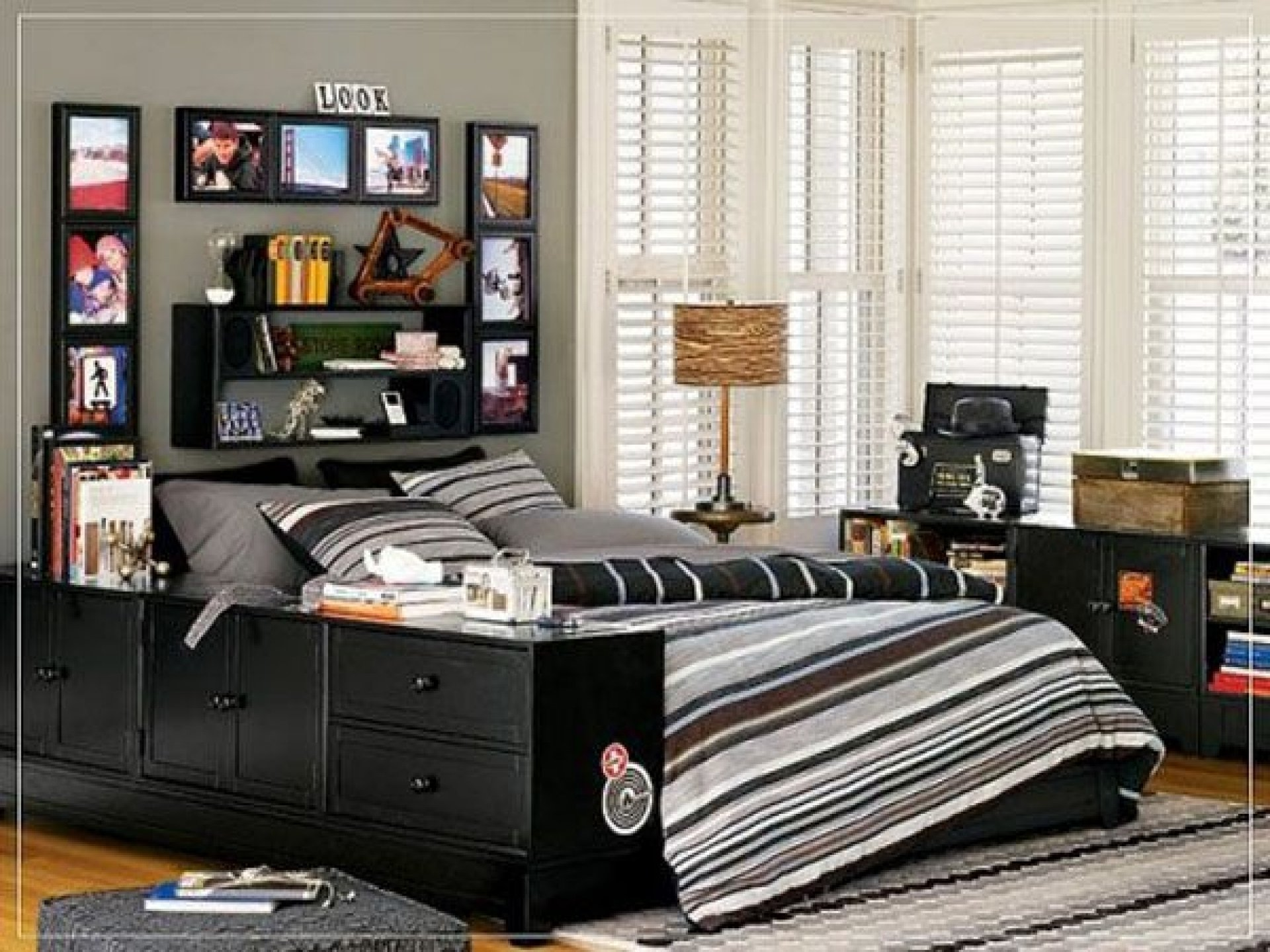 10 Beautiful Cool Room Ideas For Teenage Guys collection in small bedroom ideas for teenage guys for house decor 2020