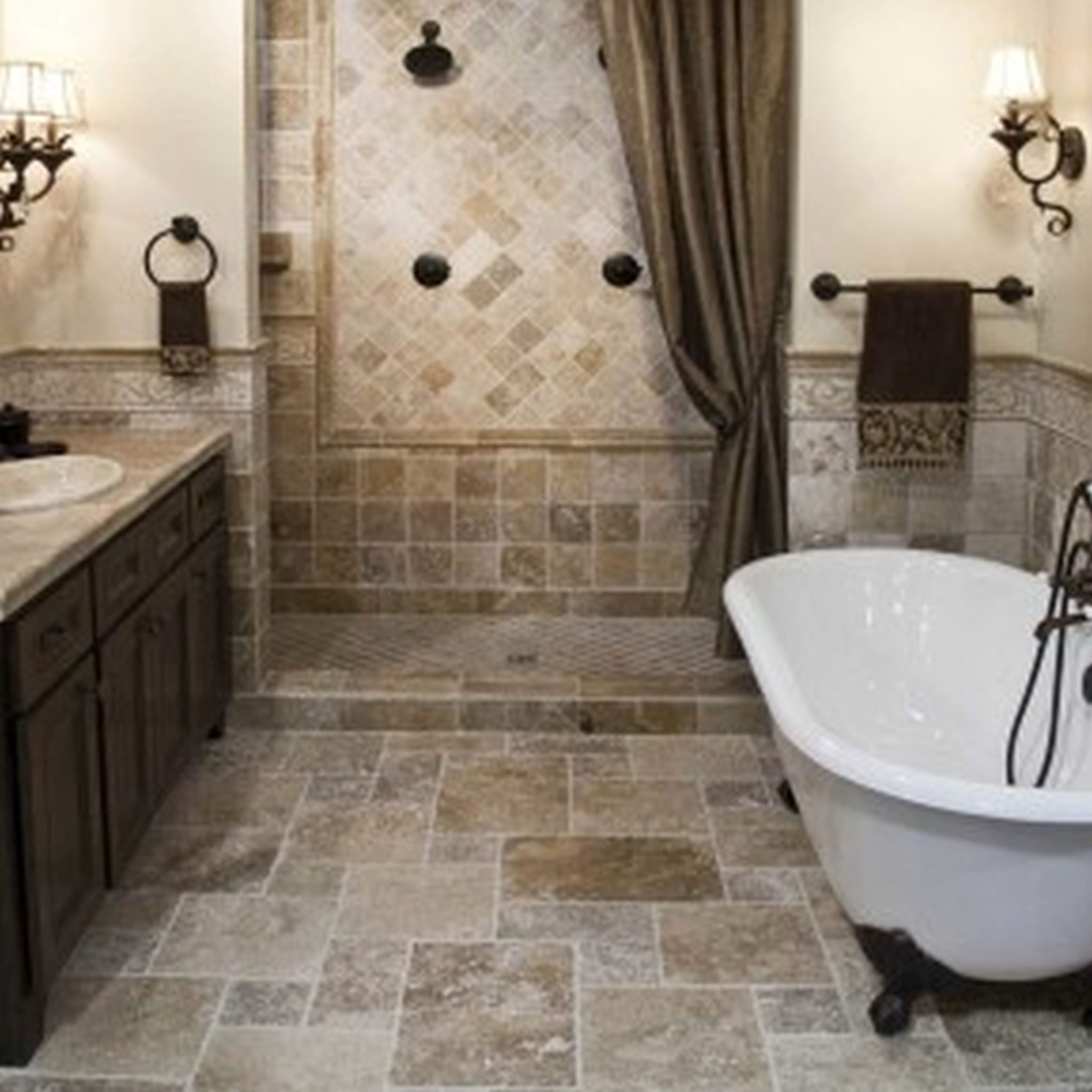 10 Great Small Bathroom Floor Tile Ideas collection of solutions bathroom tile design ideas for small