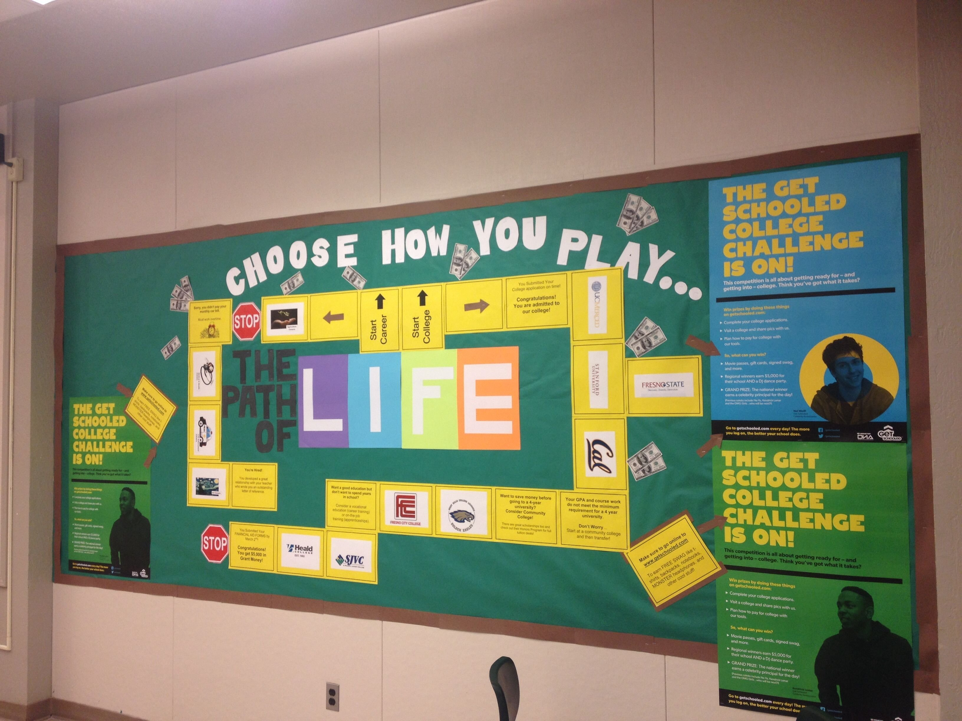 10 Stylish Bulletin Board Ideas For Work college and career bulletin board work related pinterest 1 2020